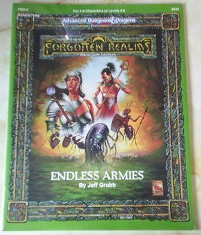 Endless Armies (AD&D/Forgotten Realms/Maztica Module FMA2) (Advanced Dungeons and Dragons, 2nd Edition : Forgotten Realms Accessory), Grubb, Jeff
