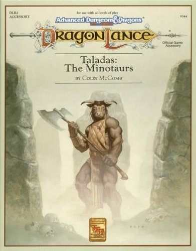 9781560761501: Taladas: The Minotaurs (Advanced Dungeons and Dragons / Dragonlance, DLR2 Accessory)