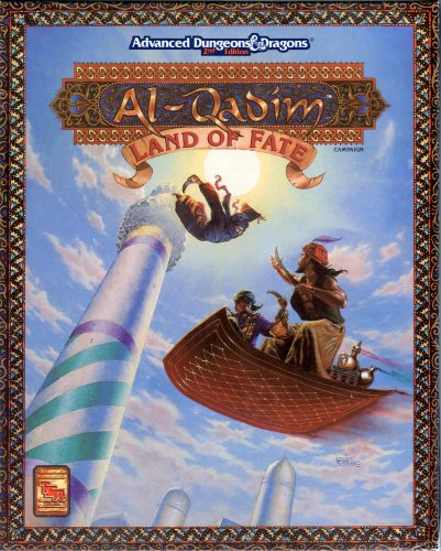 Land of Fate: Advanced Dungeons & Dragons, 2nd Edition, Al-Qadim, Boxed Set: Grubb, Jeff