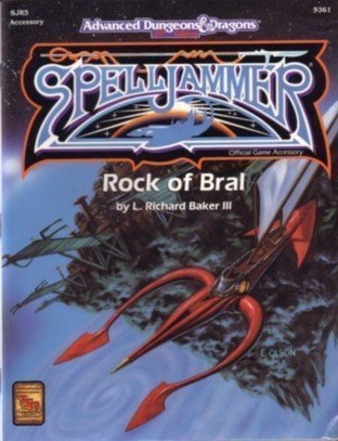 Rock of Bral (ADVANCED DUNGEONS & DRAGONS, 2ND EDITION) (1560763450) by L. Richard Baker