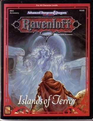 9781560763499: Islands of Terror (AD&D 2nd Ed Fantasy Roleplaying, Ravenloft RR4/9348)