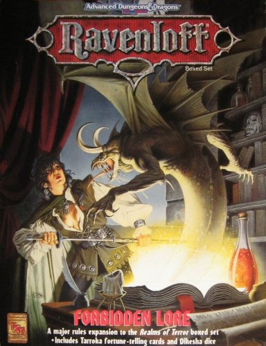 Forbidden Lore (AD&D 2nd edition, Ravenloft): Bruce Neamith; William W. Connors