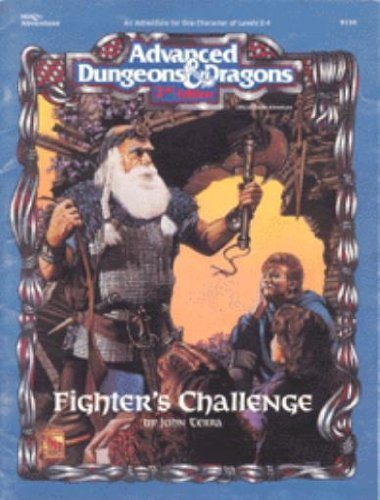 9781560763574: Fighter's Challenge (Advanced Dungeons & Dragons ,2nd Edition, No. 9330/Hhq1, Adventure)