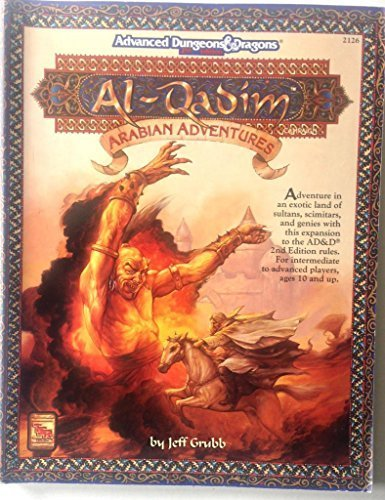 Arabian Adventures (AL-QADIM): Grubb, Jeff, Hayday,