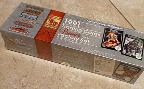 1991 Trading Cards Factory Set/Premier Edition (Advanced Dungeons & Dragons, 2nd Edition): Not ...