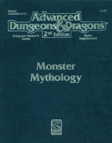 Monster Mythology (Advanced Dungeons & Dragons: Dungeon: Carl Sargent