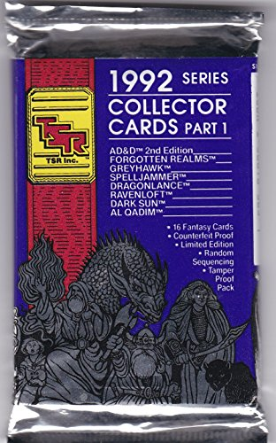 9781560763635: Fantasy Collector Cards: 1992 Series (Advanced Dungeons & Dragons, 2nd Edition)