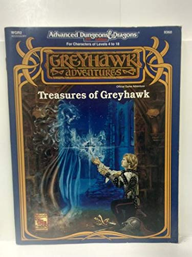 Treasures of Greyhawk (AD&D 2nd Ed Fantasy Roleplaying, WGR2): Tom Prusa