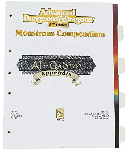9781560763703: Monstrous Compendium, Al-Qadim Appendix (Advanced Dungeons & Dragons, 2nd Edition, MC13)