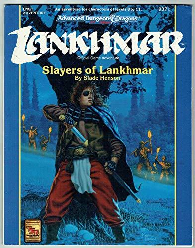 9781560763734: Slayers of Lankhmar (AD&D/Lankhmar Module LNQ1)
