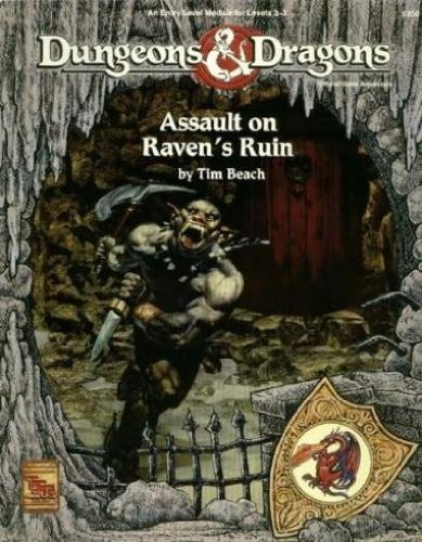 Assault on Raven's Ruin (Basic Dungeons & Dragons (Original Edition) - Modules & ...