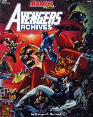 Avengers Archives (Marvel Super Heroes Accessory MHR3): Schend, Steven E.