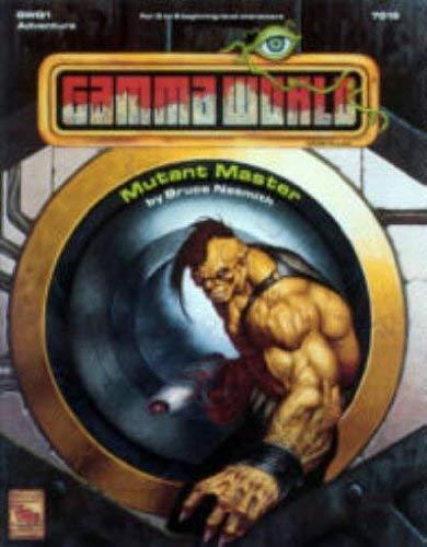Mutant Master (Gamma World, Gwq1 Adventure): Nesmith, Bruce