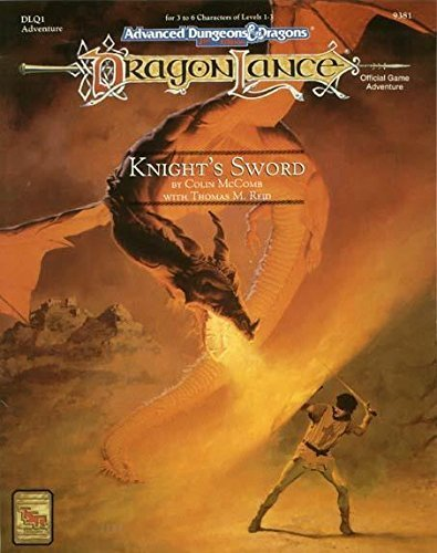 Knight's Sword (Advanced Dungeons & Dragons, 2nd Edition) (156076421X) by McComb, Colin