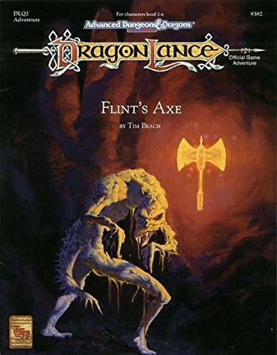 9781560764229: Flint's Axe (DLQ2 ADVANCED DUNGEONS & DRAGONS, 2ND EDITION, 9382)