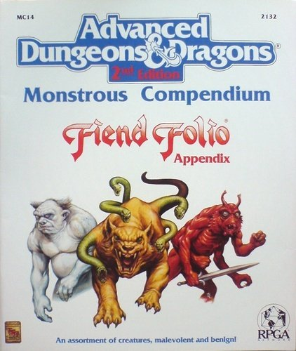 Monstrous Compendium: Fiend Folio Appendix (AD&D 2nd Edition MC14): TSR Staff