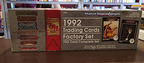 1992 Trading Cards Factory Set: 750 Card Complete Set (Advanced Dungeons & Dragons): Tsr