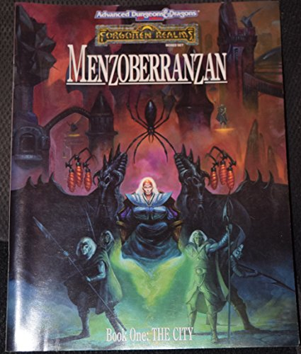Menzoberranzan The Famed City of the Drow, Revealed At Last!: Douglas;Salvatore, R. A. Greenwood;...