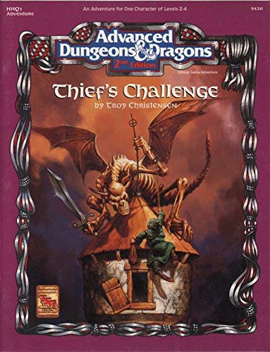 9781560765622: Thief's Challenge (Advanced Dungeons & Dragons Module HHQ3)