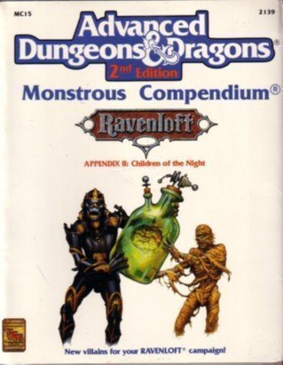 Children of the Night (Advanced Dungeons & Dragons, 2nd Edition : Monstrous Compendium : ...