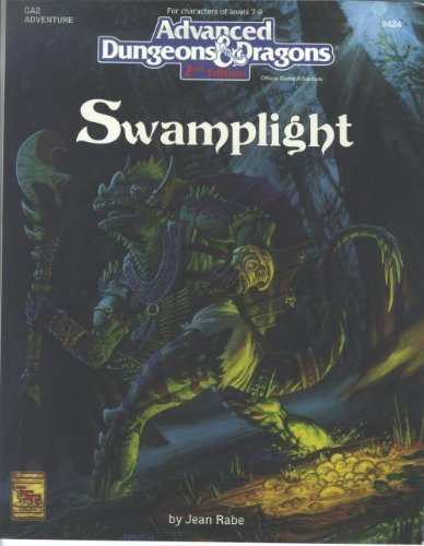 Swamplight (Advanced Dungeons & Dragons, 2nd Edition, Ga2 : 9424): Rabe, Jean