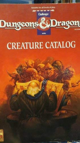 9781560765936: Creature Catalog (Dungeons and Dragons Accessory DMR2)