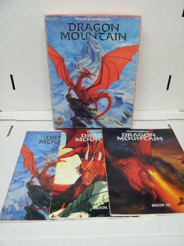 Dragon Mountain (AD&D 2nd Ed. Fantasy Roleplaying): McComb, Colin; Lidberg, Paul