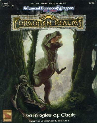 Jungles of Chult, The (Forgotten Realms - World Books): James Lowder, Jean Rabe
