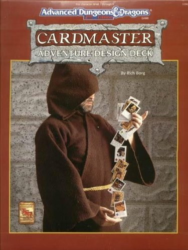 9781560766124: Cardmaster Adventure Design Deck (Advanced Dungeons and Dragons Game)