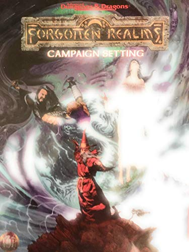 FORGOTTEN REALMS CAMPAIGN (Advanced Dungeons & Dragons, 2nd Edition): Grubb, Jeff