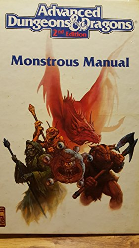 9781560766193: Monstrous Manual (Advanced Dungeons & Dragons)