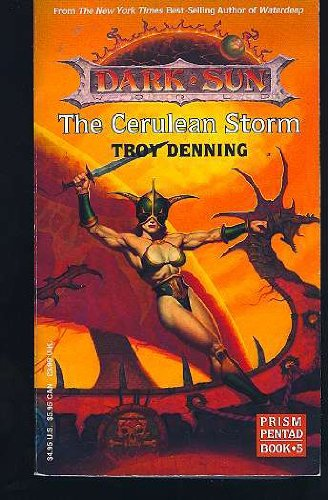 9781560766421: The Cerulean Storm (Dark Sun: Prism Pentad, Book 5)