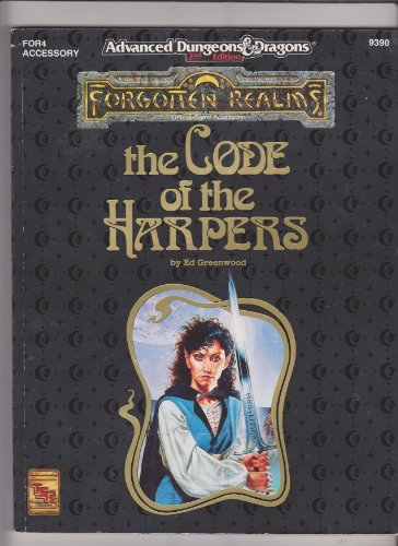 9781560766445: The Code of the Harpers (AD&D Fantasy Roleplaying, Forgotten Realms)