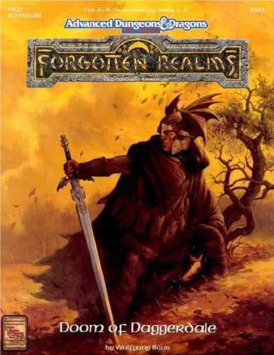 9781560766544: Doom of Daggerdale (AD&D/Forgotten Realms Module FRQ3)