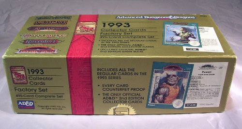9781560766827: Fantasy Collector Cards Factory Set (Advanced Dungeons & Dragons, 2nd Edition)