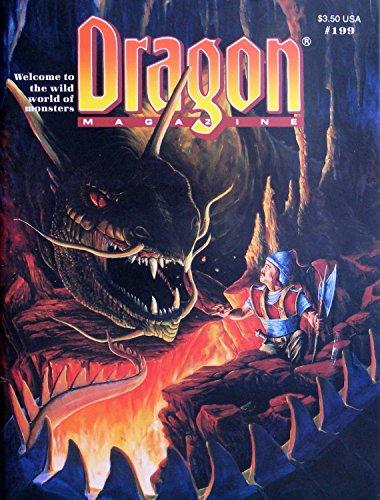 Dragon Magazine #199 November 1993 (Welcome to: Kim M