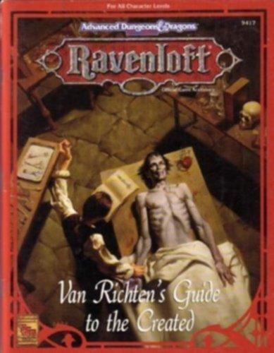 Van Richten's Guide to the Created: Woodruff, Teeuwynn