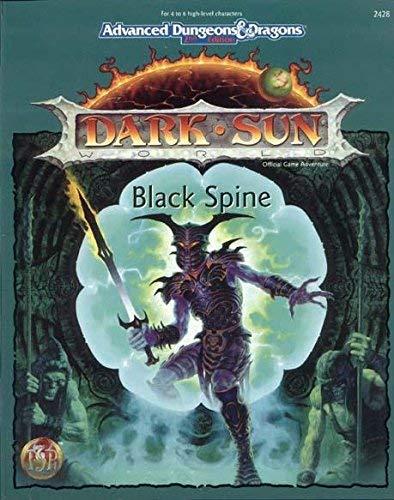9781560768241: Black Spine (DARK SUN)