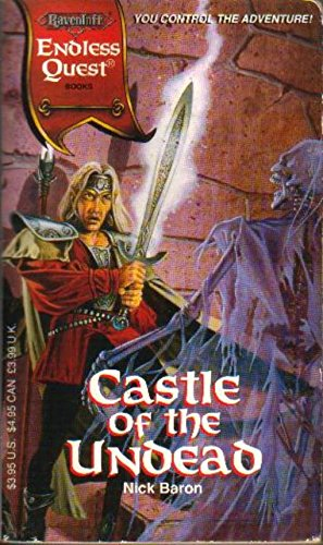 9781560768364: Endless Quest:Castle of the Undead# (Endless Quest Ravenloft Setting)