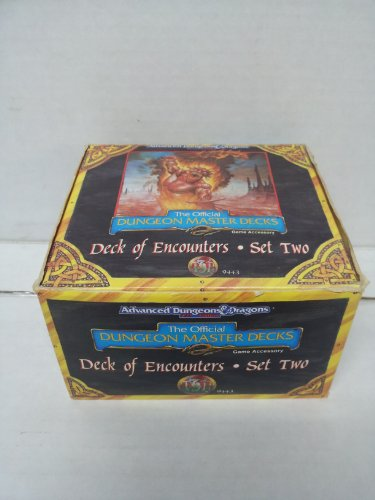 9781560768463: Deck of Encounters: Set 2 (Advanced Dungeons & Dragons : The Official Dungeon Master Deck/Set Two)