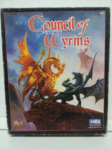 Council of Wyrms: Adventure (AD&D 2nd Edition Deluxe Boxed Set): Slavicsek, Bill