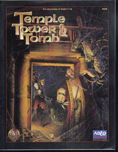 9781560768593: Temple, Tower, and Tomb (Advanced Dungeons & Dragons, 2nd Edition)