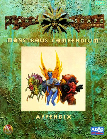 9781560768623: Monstrous Compendium Appendix (Planescape) (Advanced Dungeons & Dragons, 2nd Edition, Accessory/2602)