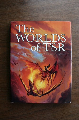 9781560768791: The Worlds of TSR: A Pictorial Journey Through the Landscape of Imagination