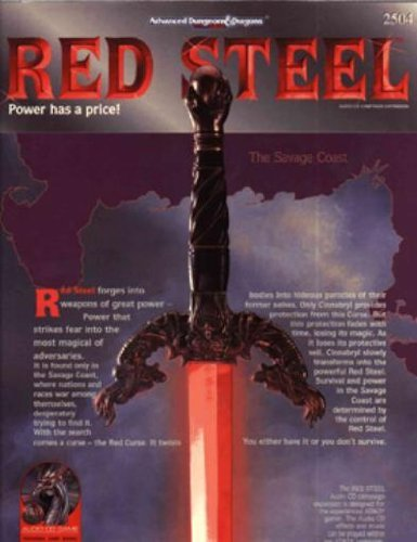 9781560768951: Red Steel (ADVANCED DUNGEONS AND DRAGONS 2ND EDITION)