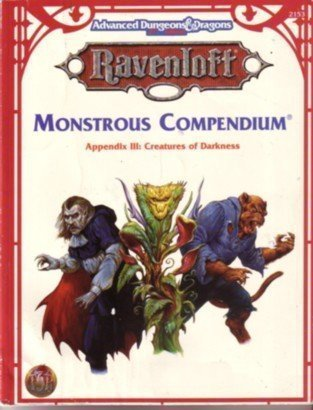 9781560769149: Monstrous Compendium Appendix III: Creatures of Darkness (Advanced Dungeons & Dragons, 2nd Edition, Ravenloft Accessory/2153) (No 3)