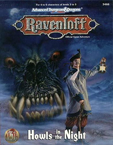 9781560769279: Howls in the Night (AD&D 2nd Ed Fantasy Roleplaying, Ravenloft Adventure)