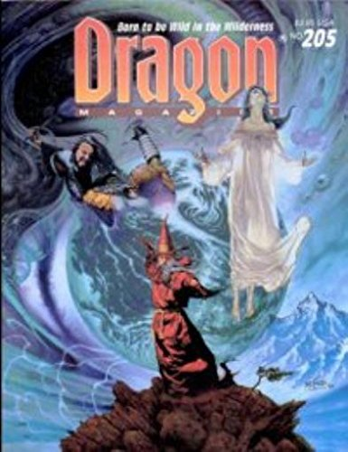 Dragon Magazine No 205 (Dungeons & Dragons): Wizards of the Coast