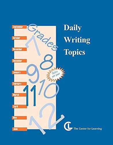 Daily Writing Topics