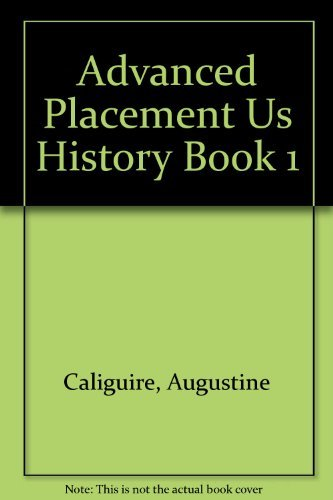 9781560774853: Advanced Placement Us History Book 1 (Social studies series)